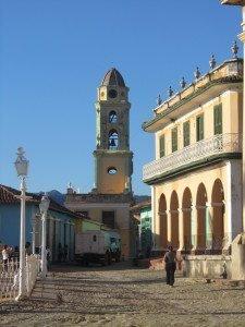 Construções do centro histórico, junto à Plaza Mayor